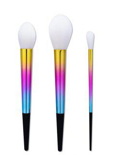 Ombre Tapered Handle Makeup Brush Set