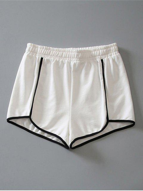 Short en Coton - Blanc L Mobile