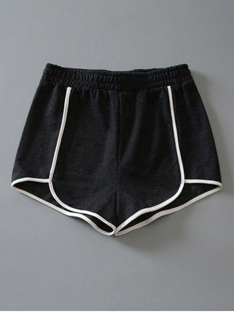 Delphin-Shorts aus Baumwoll - DUNKEL GRAU M Mobile