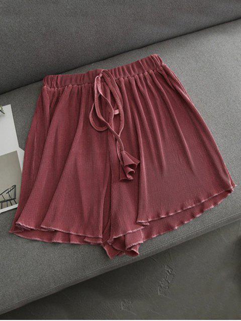 Short plissé couvert - Anko- rouge Taille Unique Mobile