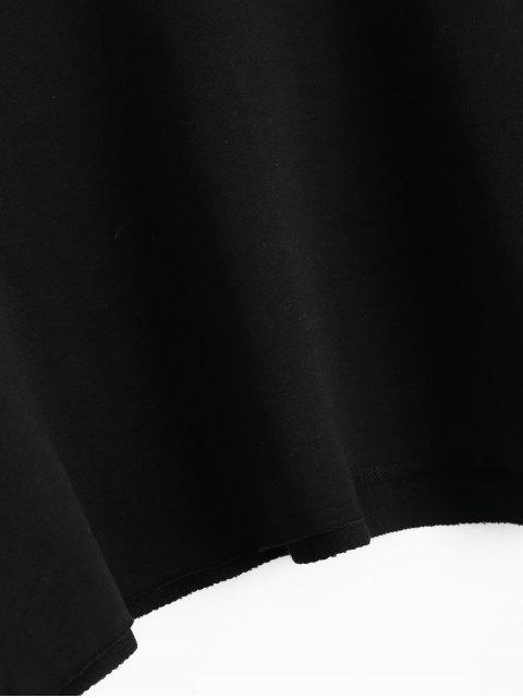 Sudadera con capucha deportiva - Negro Talla única Mobile