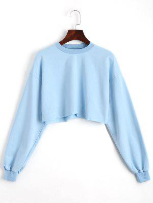 Sporty Cropped Sweatshirt