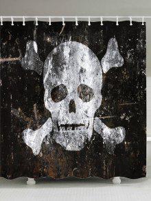 Pared De La Pared Del Cráneo - Blanco W71pulgadas*l71pulgadas