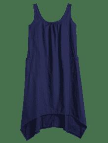 Sin Vestido 250;reo Cuello Azul Xl Purp U Asim 233;trico Mangas Sg1anxHqw