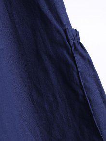 Sin Vestido Cuello Purp U Azul 250;reo Asim Mangas 233;trico Xl q1Ax5