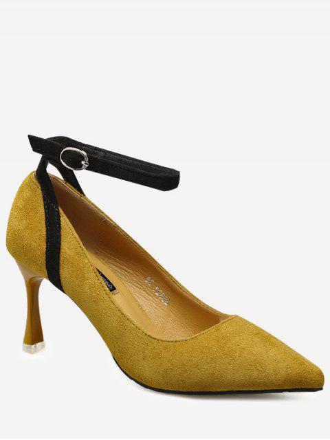Chaussures à Bride Cheville à Bout Pointu - Curcumae 39 Mobile