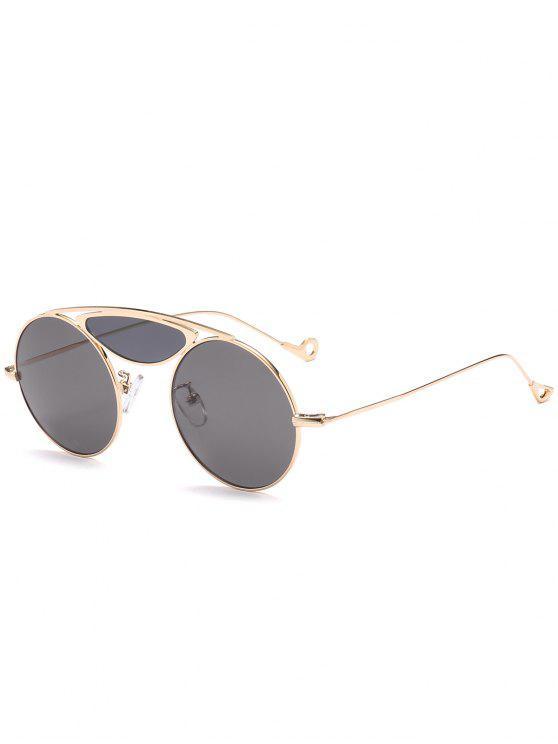 Gafas de sol Camber Metal Crossbar Round - Negro