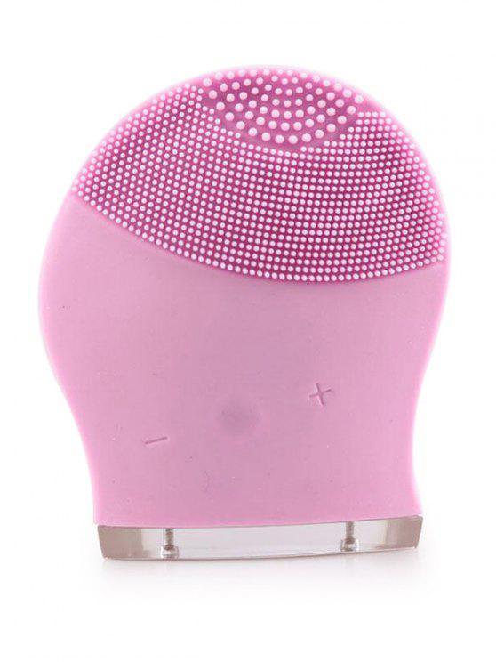 Masaje Eléctrico Silicona Facial Cleansing Brush Device - Rosa