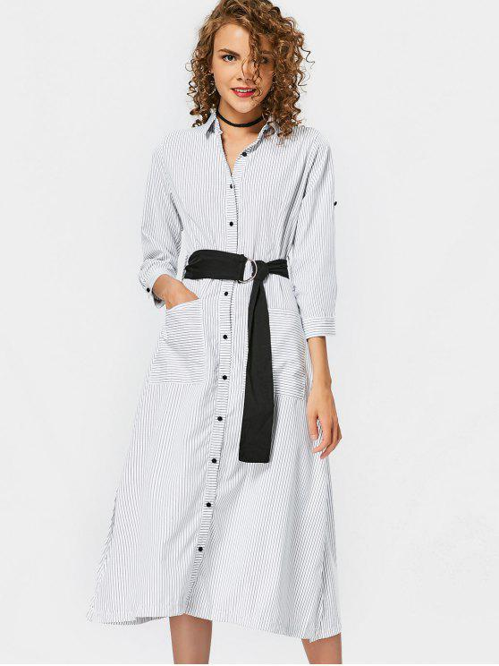 Robe à manches rayées Casual Stripes - Rayure S