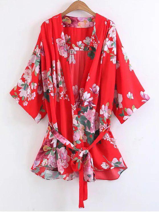 Chemisier en Kimono - Floral L
