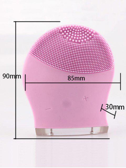 Appareil pour nettoyer le masque électrique pour massage électrique - ROSE PÂLE  Mobile
