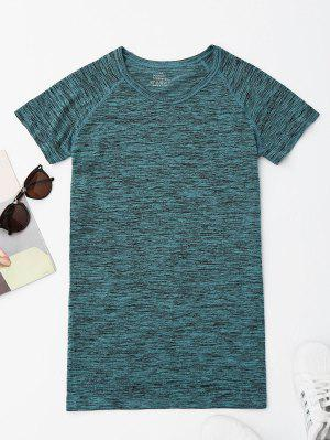 Heathered Sports Top - Green S