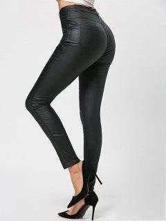 Polished Skinny Pants - Black 2xl
