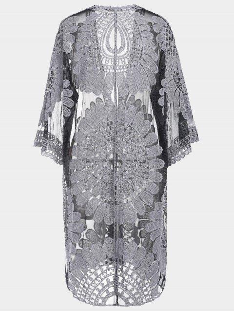 Robe de survêtement autocollant Kimono - Noir 2XL Mobile