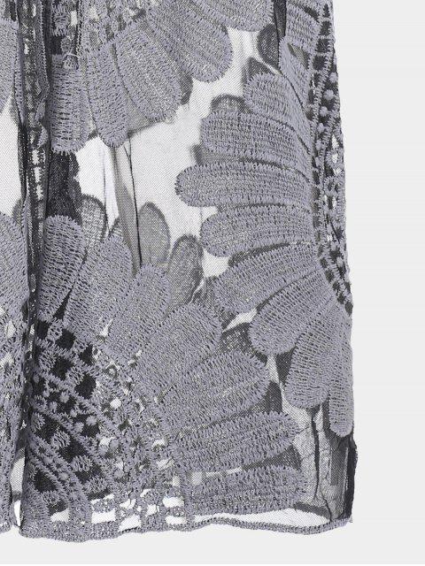 Robe de survêtement autocollant Kimono - Noir XL Mobile