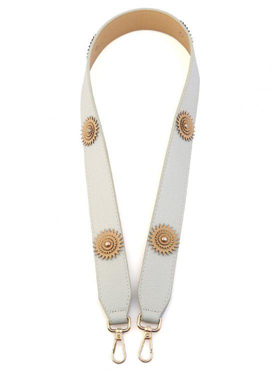 Fleur Vintage Shoulder Strap Bag Accessory - Blanc Cassé