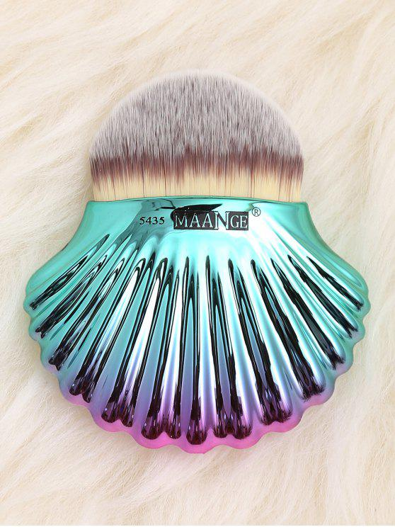 hot Ocean Shell Design Two Tone Foundation Brush - GRAY