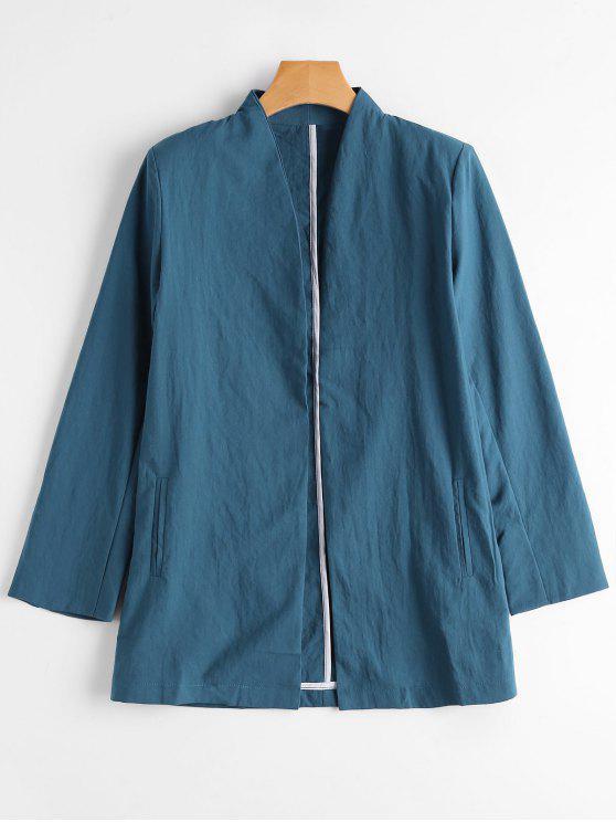Casual Blazer mit Öffnung vorne - Blau S