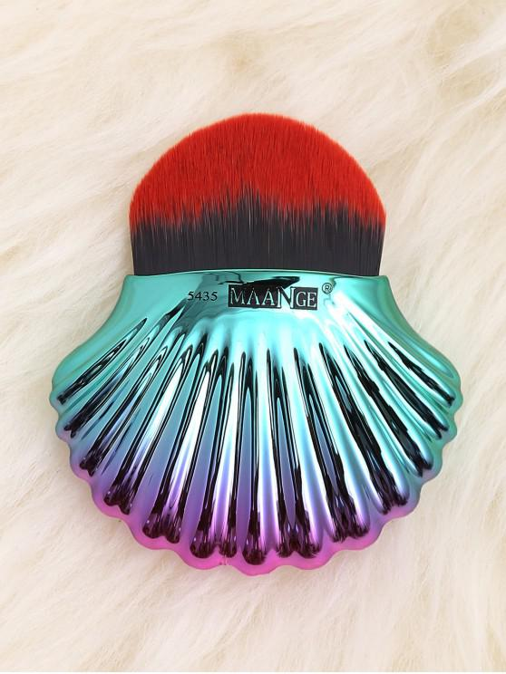 new Ocean Shell Design Two Tone Foundation Brush - BLACK RED