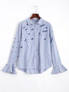 Chemise Rayée à Rayures à Rayures - Rayure S