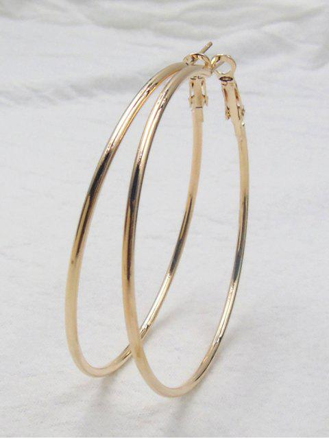 Boucles d'oreilles Big Hoop - Or  Mobile