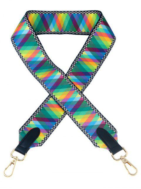 online Geometric Bag Accessory Shoulder Strap - COLORMIX  Mobile