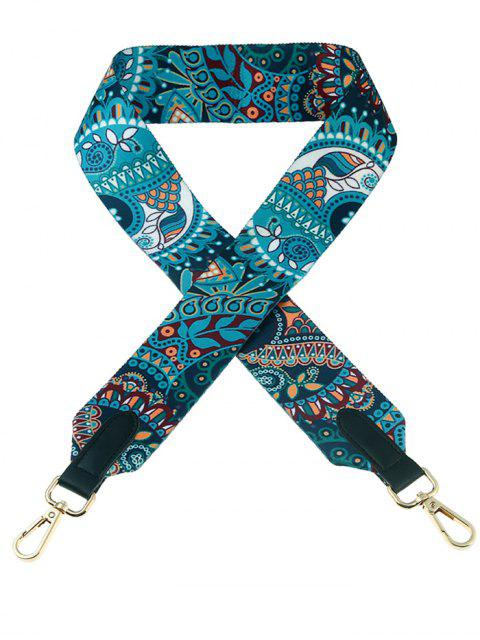 Bohemia Print Wide Bag Strap - Multicolore  Mobile