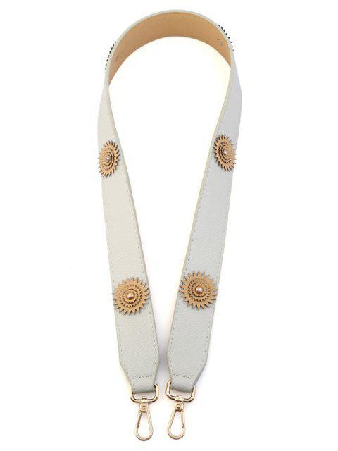 Fleur Vintage Shoulder Strap Bag Accessory - Blanc Cassé  Mobile