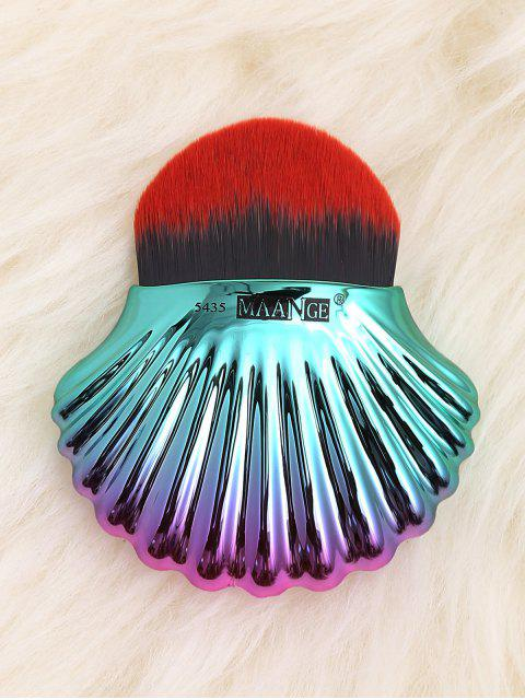 Cepillo de la fundación del diseño de Shell del océano dos cepillo - Rojo Negro  Mobile