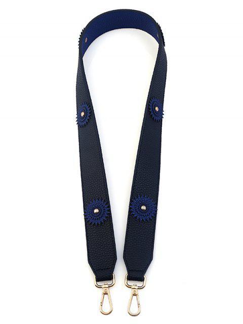 Fleur Vintage Shoulder Strap Bag Accessory - Bleu Violet  Mobile