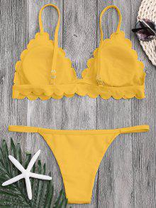 665a9af5557 Low Waisted Scalloped Thong Bikini; Low Waisted Scalloped Thong Bikini ...