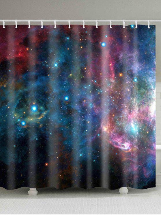 ستاري غالاكسي طباعة ماء النسيج حمام دش الستار - Colormix W71 بوصة * L79 بوصة