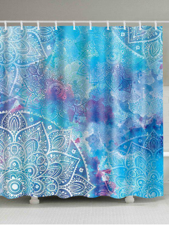 ماندالا المائية المائية دش الستار - البحيرة الزرقاء W59 بوصة * L71 بوصة