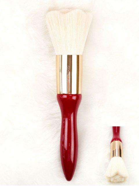 online Rose Design High Grade Hair Powder Brush - RED  Mobile