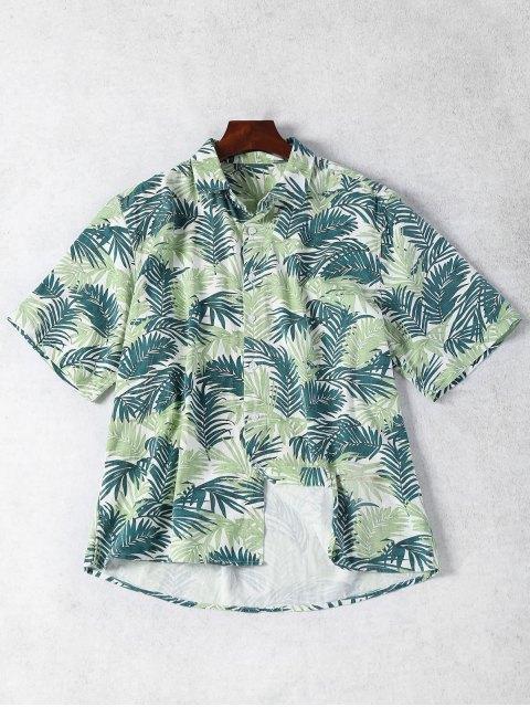 Chemise à manches longues à manches longues - Floral S Mobile