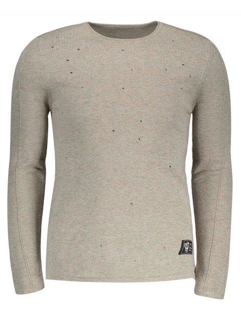 Sudadera con capucha de algodón - Caqui 2XL Mobile