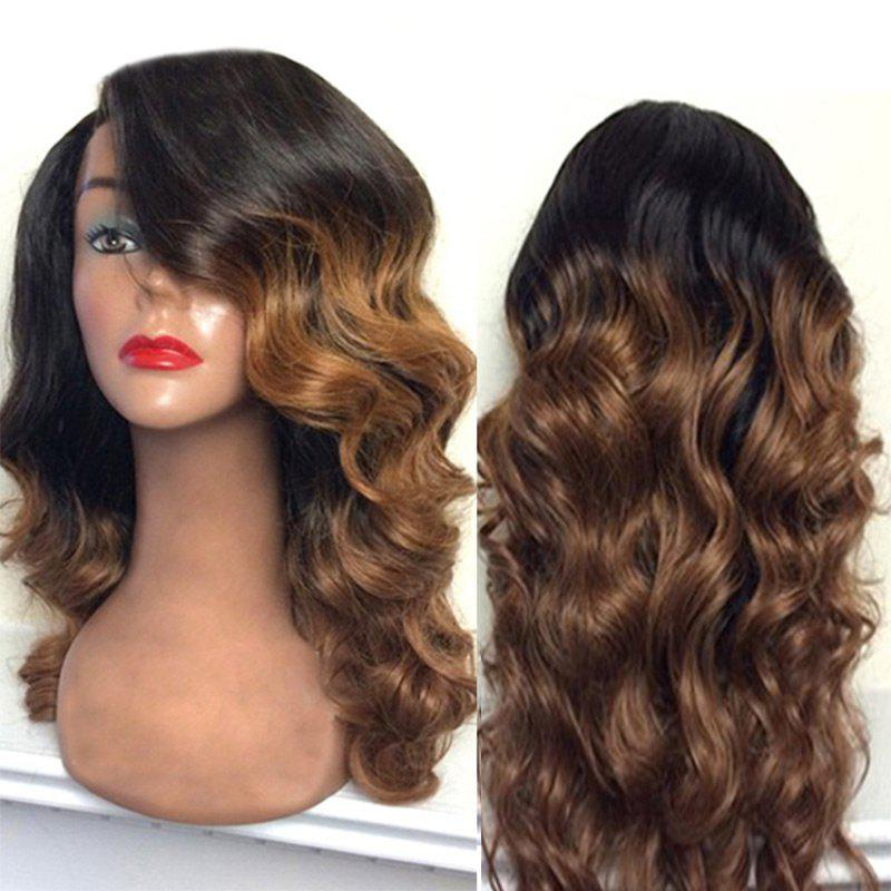 Long Side Part Colormix Body Wave Synthetic Wig 224444401