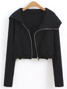 5ec898d1af9dc Zip Up Cropped Sweatshirt  Zip Up Cropped Sweatshirt ...