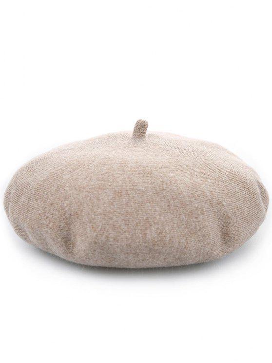 Tapa caliente del pintor de la calabaza de la mezcla de lana - Camello