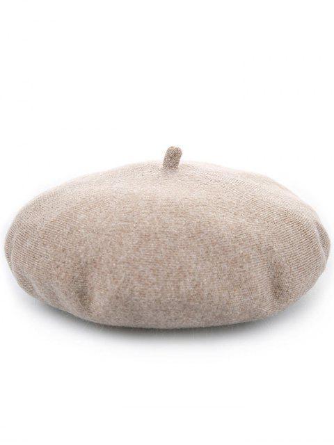 Tapa caliente del pintor de la calabaza de la mezcla de lana - Camello  Mobile