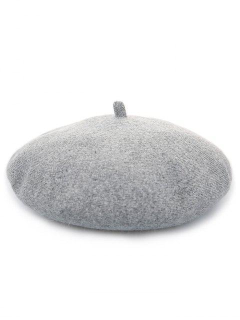 Tapa caliente del pintor de la calabaza de la mezcla de lana - Gris  Mobile