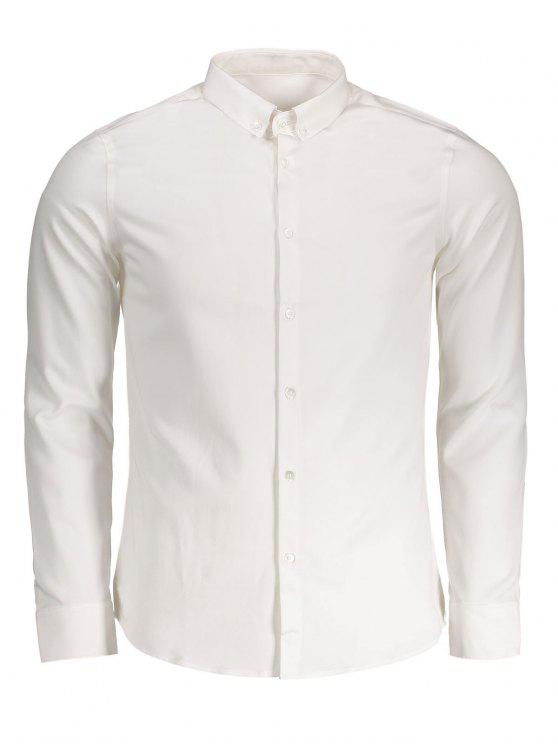 best Button Down Shirt - WHITE XL