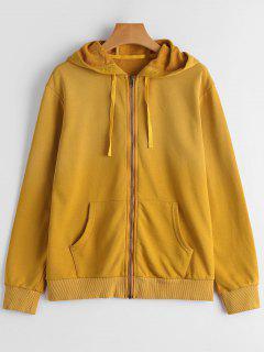 Long Sleeve Full Zip Hoodie - Ginger M