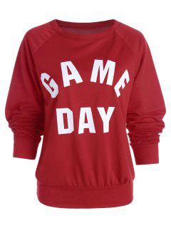 Game Day Sweatshirt - Red L
