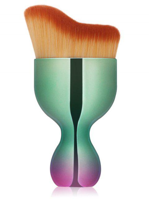 hot Oblate Wine Glass Shape Makeup Foundation Brush - GREEN  Mobile