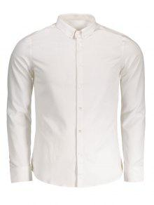 57c7f290bf3 59% OFF  2019 Button Down Shirt In WHITE