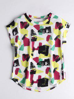 Camiseta Gráfica De Cuello Redondo - Xl