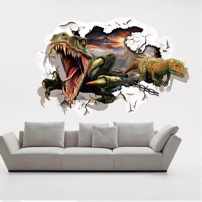 Sticker de décoration de décoration de décoration de dinosaures