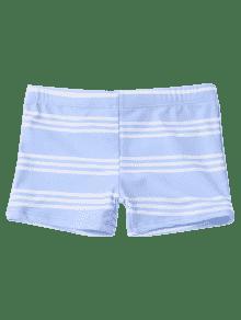 2e0e793bea 21% OFF] 2019 Striped Kids Swim Trunks In LIGHT BLUE   ZAFUL