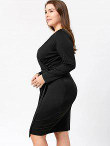 Plus size long sheath dresses